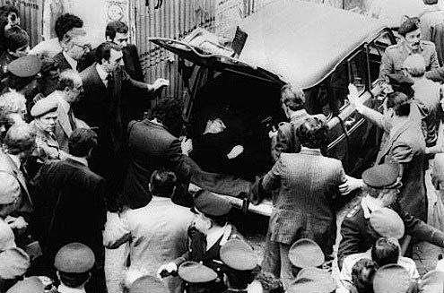 Aldo Moro, Red Brigades, Rome, 1978, urban terrorism