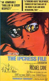 Michael Caine, Nigel Green, Guy Dolemanm, Sue Lloyd, Ipcress File, Furie