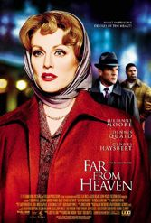 Far from Heaven, Todd Haynes, 1950s, racism, Connecticut, Julianne Moore, Dennis Quaid, Dennis Haysbert, Viola Davis, Patricia Clarkson