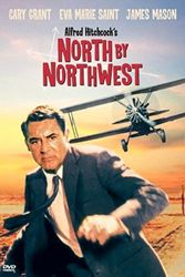 North by Northwest, Hitchcock, crop dusting, Cary Grant, spies, James Mason, 1950s