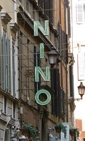 Nino on Via Borgognona.