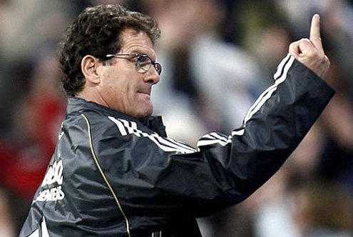 Capello's training is all-Latin: Juventus, Roma, Real Madrid, AC Milan
