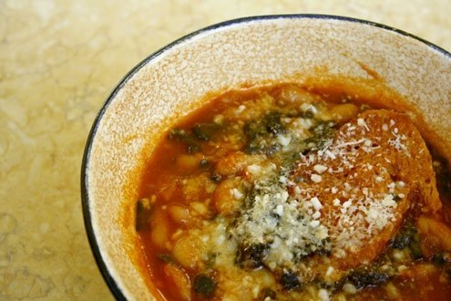 Making a A solid ribollita should require half a day.