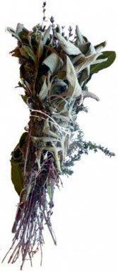 Rosemary, basil, parsley and fresh marjoram.