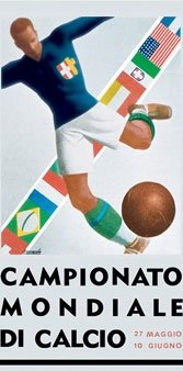 Poster for the 1934 Cup, held in Italy.