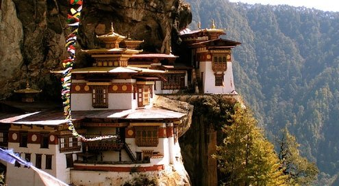 Bhutan is predominantly Buddist.