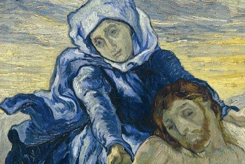 From the Collection of Contemporary Religious Art (Collezione Arte Religiosa Moderna).