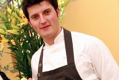 Chiotti, 25, is the chef at Cuneo's Delle Antiche Contrade.