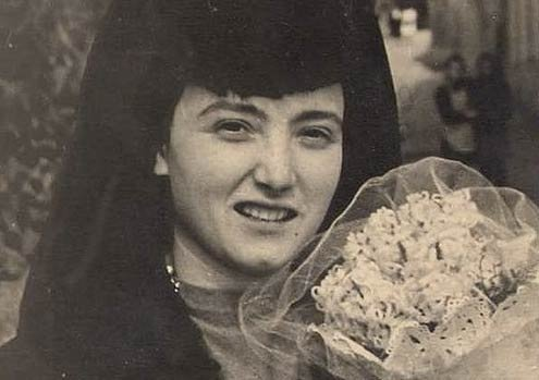 Rome bride from the late 1940s.