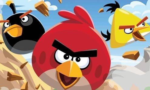 Finnish computer game developer Rovio Entertainment created Angry Birds.
