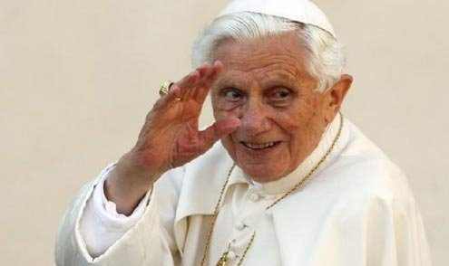 First pope to step down since the Middle Ages.