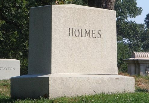 Holmes retired at age 90.