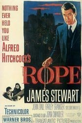 Rope, Hitchcock's stage-play thriller vanished for decades after its 1948 release, a huge pity.
