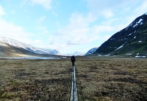 Sweden's Kungsleden National Park.
