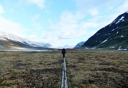 Sweden's Kungsleden National Park.