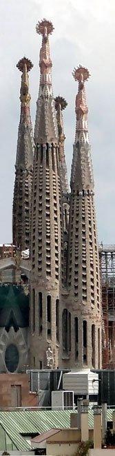 Gaudí's unfinished masterwork.