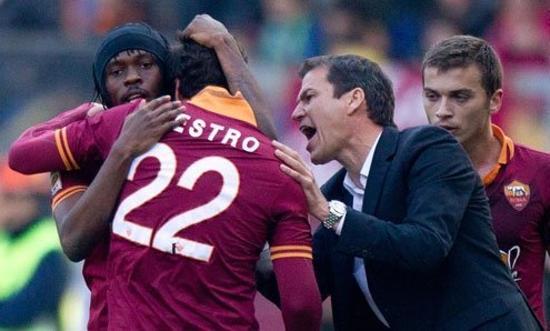 Roma is assured of at least a second place finish.
