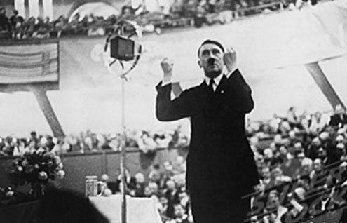 The rightist leader gradually carried his message from the provinces to Berlin.