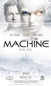 The Machine: An eerie sci-fi tale goes off the rails when it veers into Resident Evil territory.
