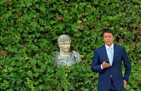 Italian Prime Minister Matteo Renzi has actively promoted his online presence.
