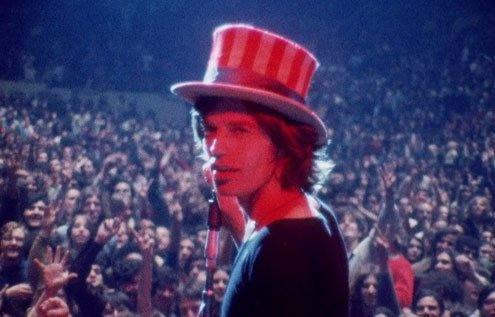 The Stones sought more publicity through a free concert in California.