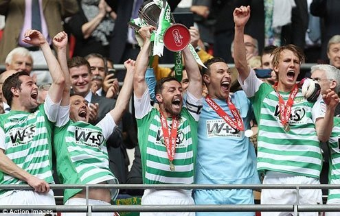 Yeovil finished last in The Championship was relegated after a year.