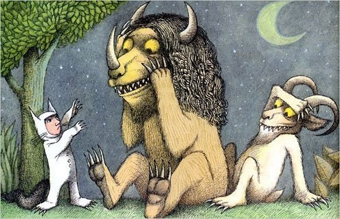 "Maurice Sendak's ""Where the Wild Things Are"" was a reassurance for children."