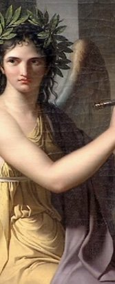 Clio by Charles Meynier, 1798.