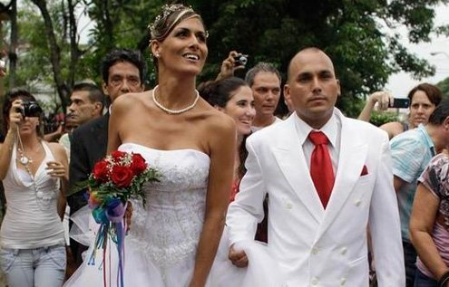 Italy, like Cuba, differentiates between transgender and same-sex.