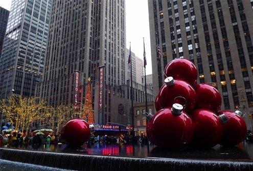 A warm New York December.