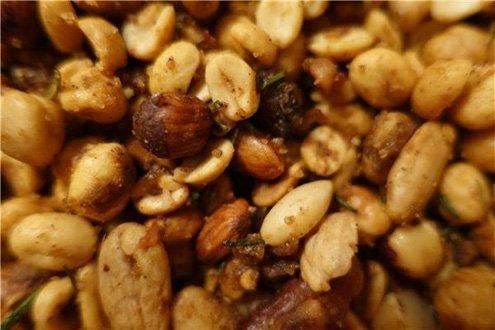 Use almonds, peanuts, cashews, hazelnuts, pistachios and even Brazil nuts.
