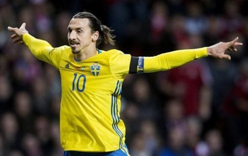 Outspoken isn't the word for Sweden's striker.