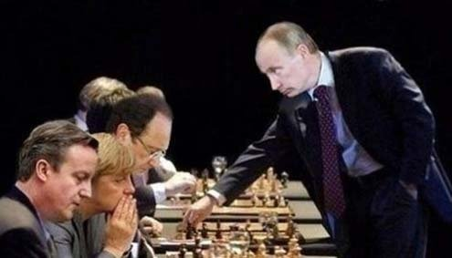 Putin has a grandmaster's skills.