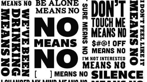 There is no such thing as consent to rape.